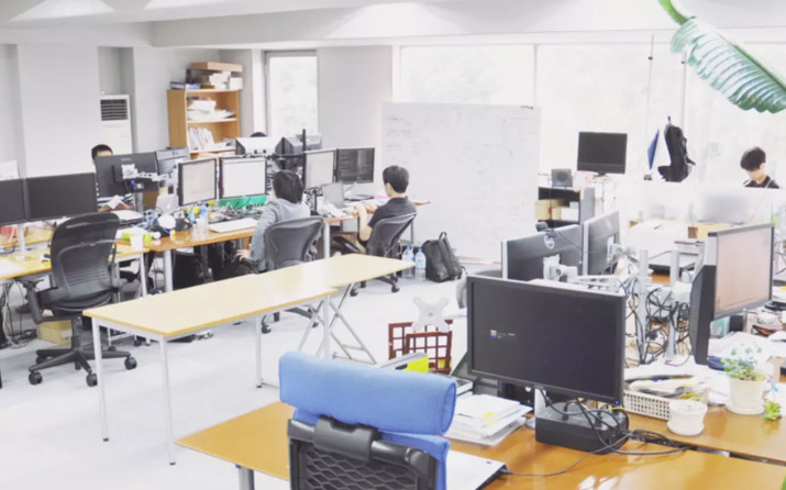社内の写真